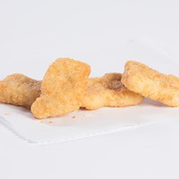 Nugget Shaped Chicken Breast Fritters