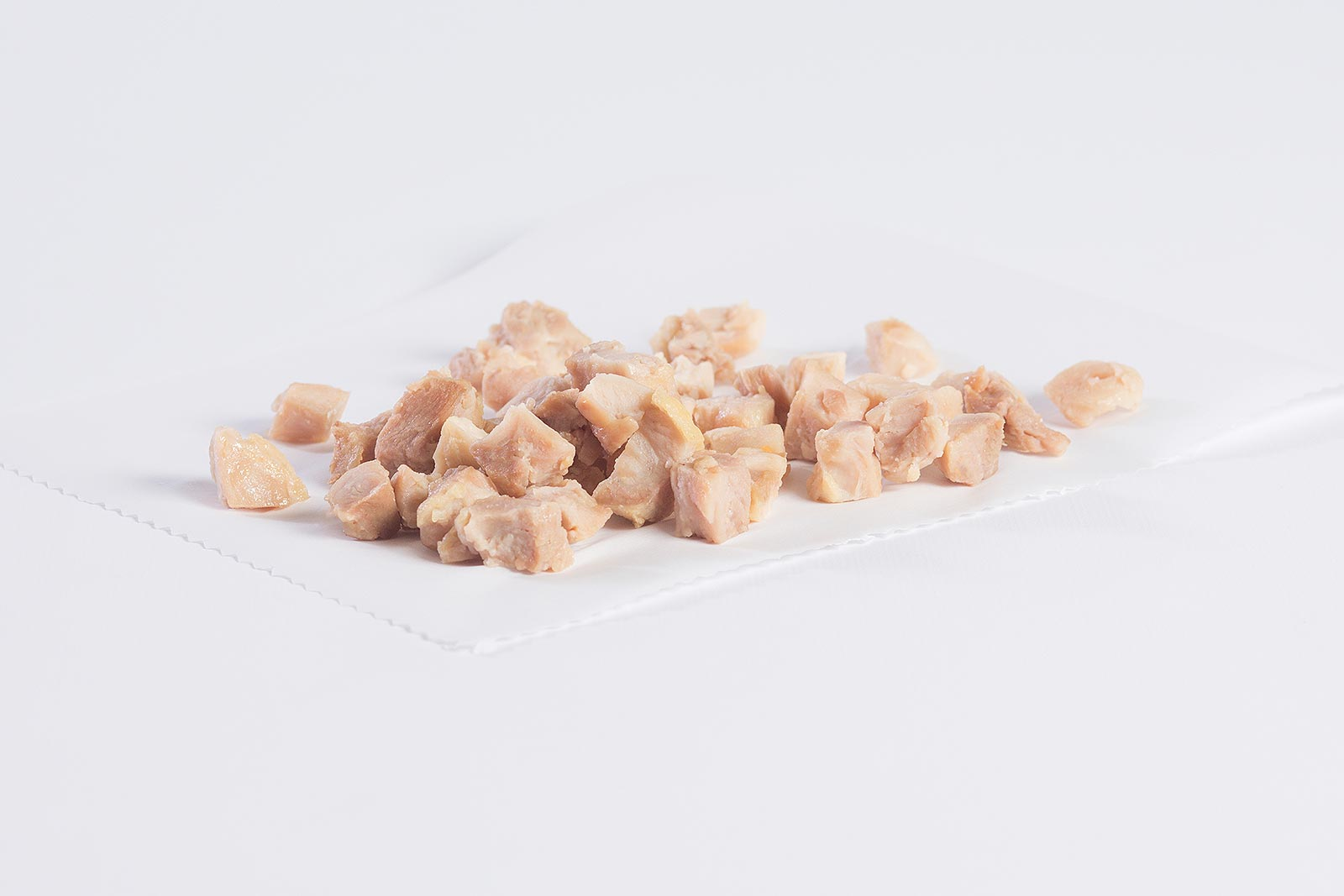 "1/2"" Diced Dark/White Chicken Meat, 80/20 image"