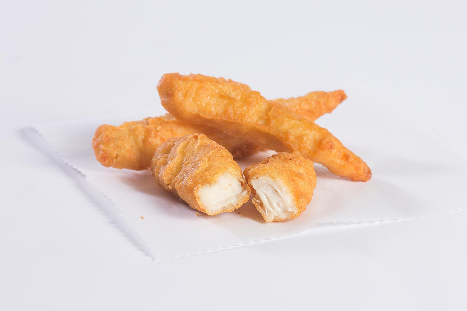 Tempura Battered Breast Strips image