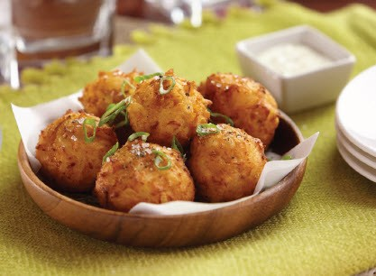Buffalo Chicken Fritters
