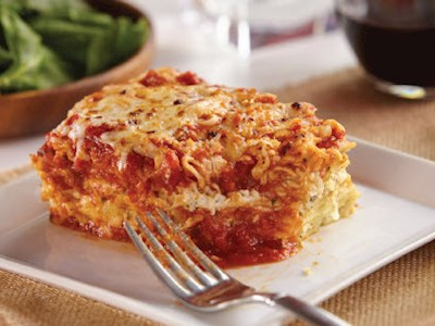 Chicken Spinach Lasagna image