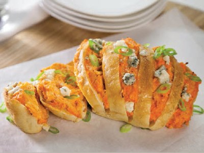 Loaded Buffalo Blue Cheese Bread image