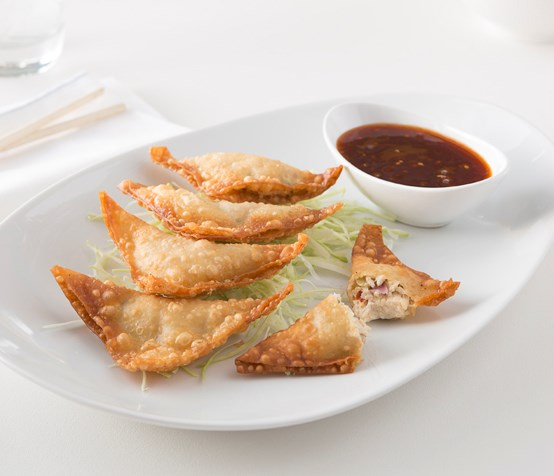 Asian Chicken Wontons