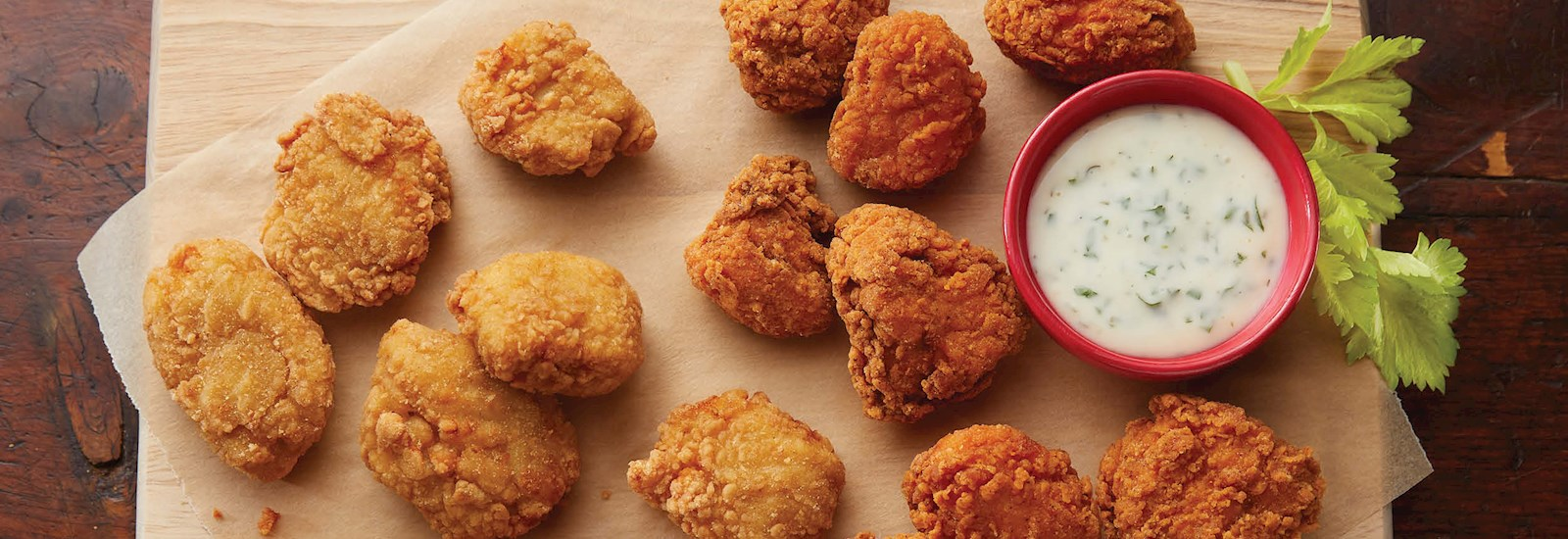 Save $10 per case, up to $1000 on Select Boneless Wings and Par Fried Products